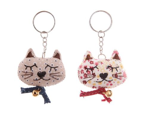CUTE CAT KEY RING